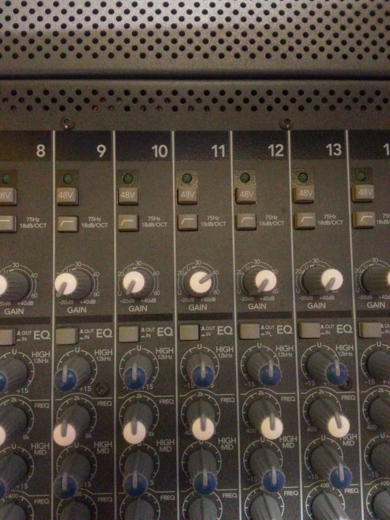 Channel 11 on my mixer.